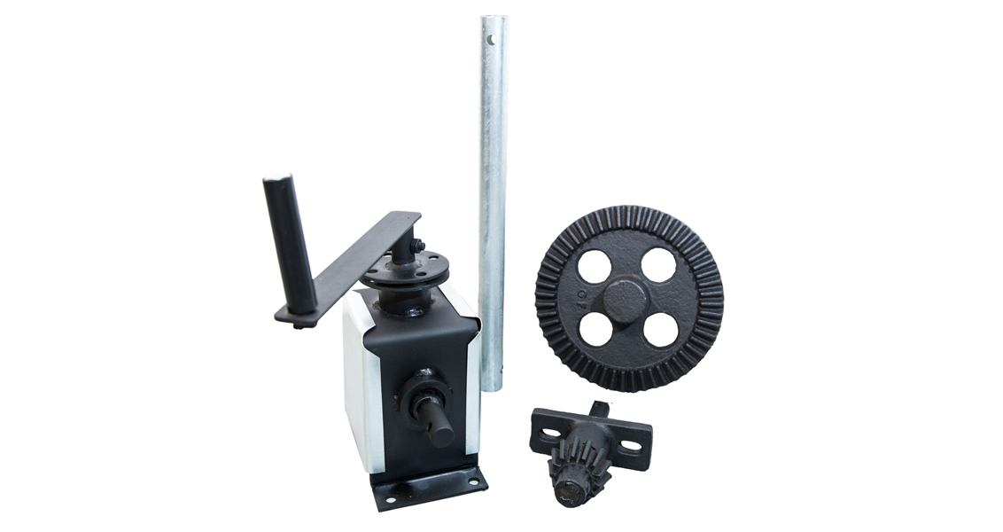 Gear Operated Roller Shutter Door components