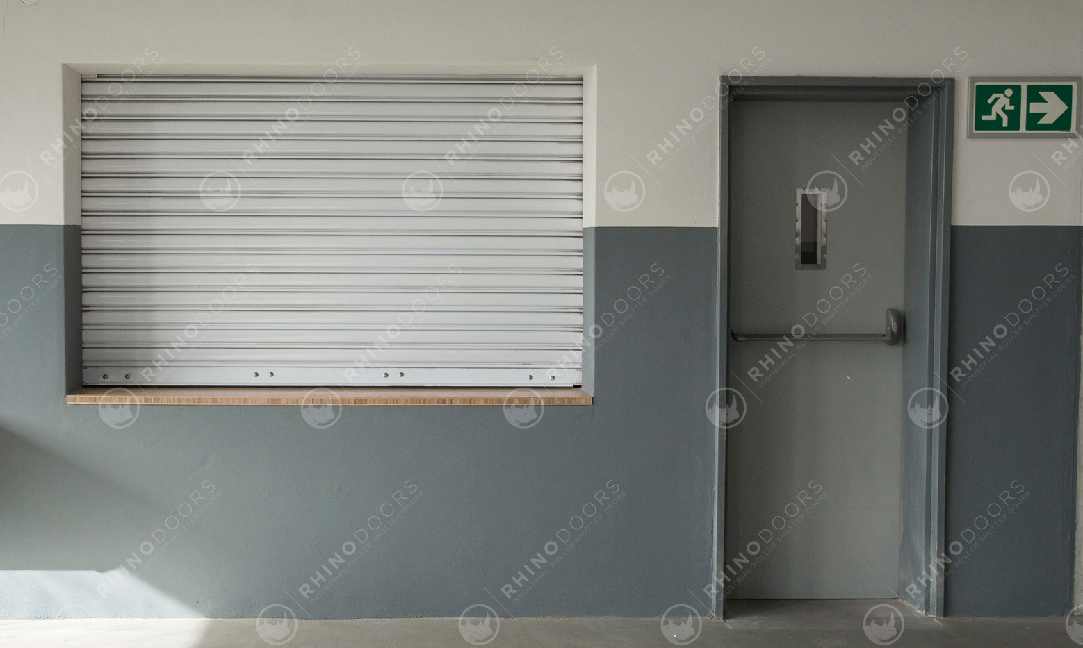 Push Up Pull Down Roller Shutter Door small